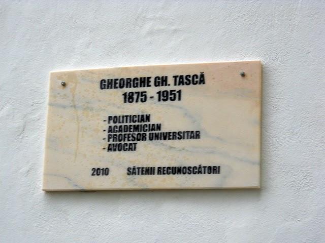 In memoriam - Gheorghe Tașcă, Ministru de Finanțe în Guvernul Iorga