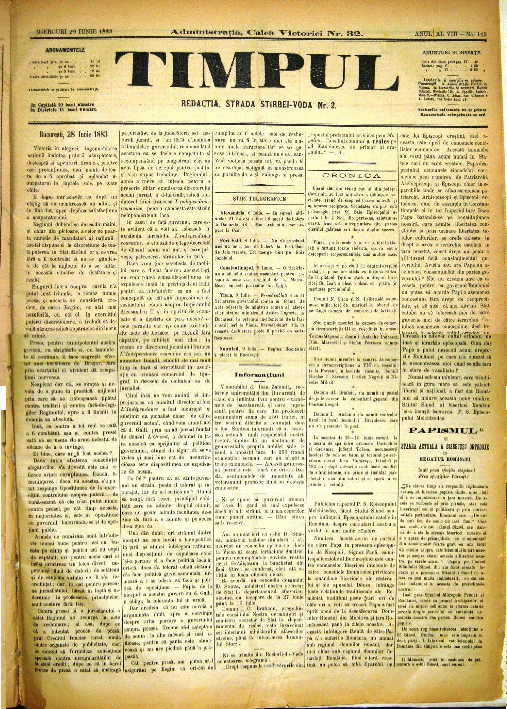 Eminescu și problema Basarabiei