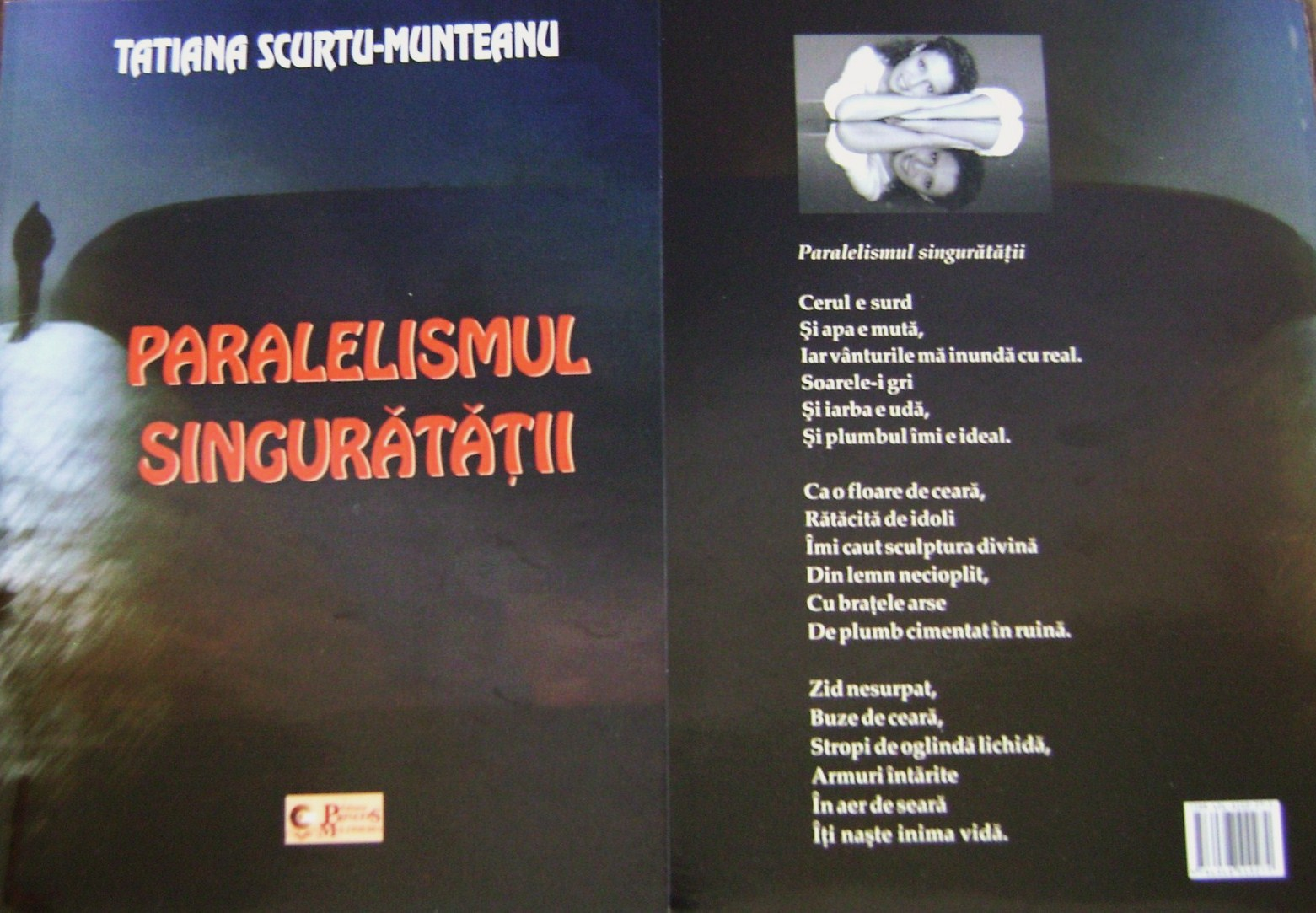 A apărut volumul de debut al poetei Tatiana Scurtu-Munteanu