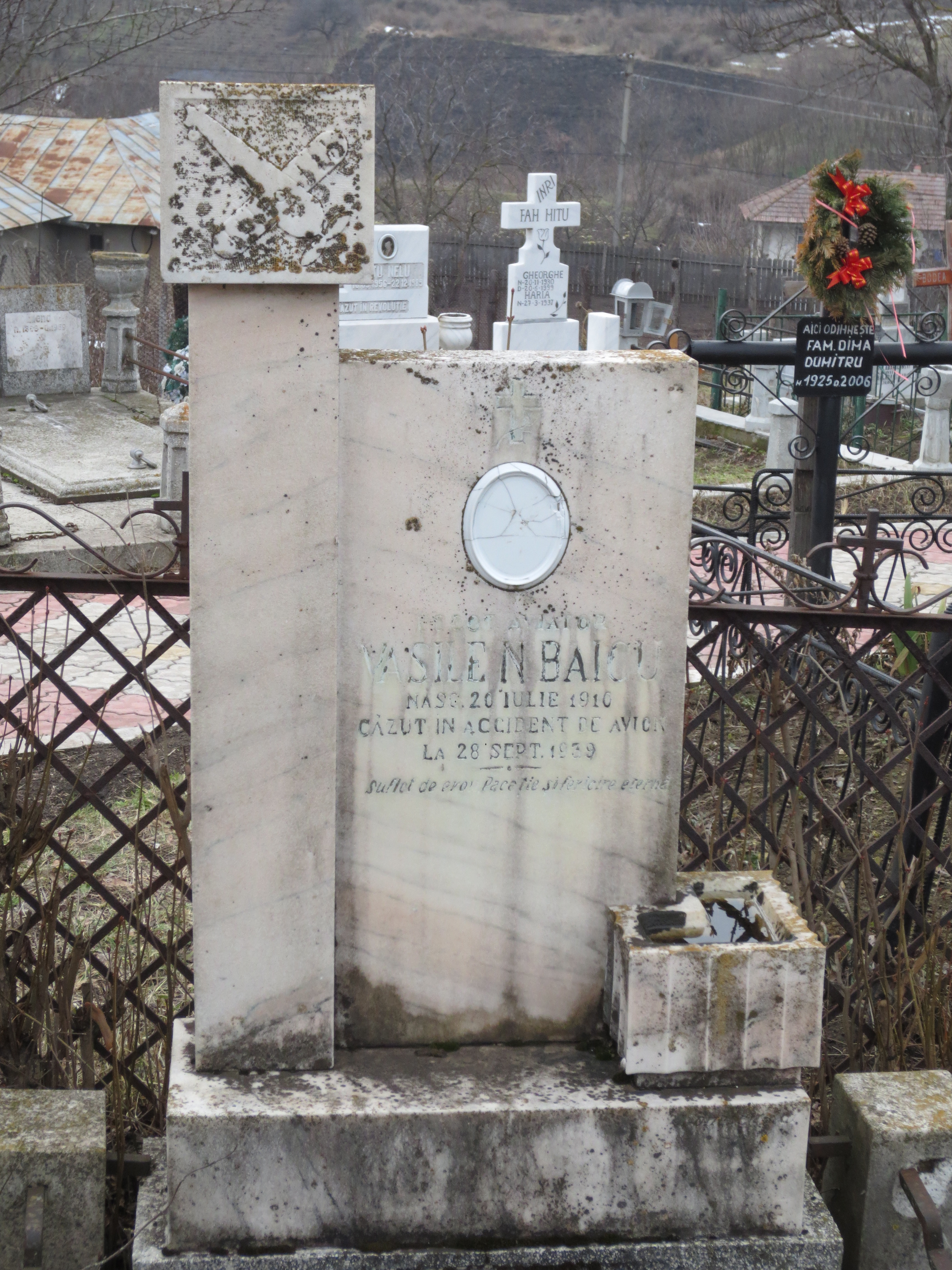 Vasile Baicu – locotenentul aviator cu suflet de erou al Bălăbăneștiului